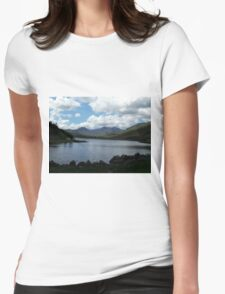 Snowdon Horseshoe North Wales Womens Fitted T-Shirt