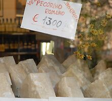 Pecorino Romano, Rome by Skye Hohmann