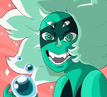 Malachite Always Wins by Ladyhasart