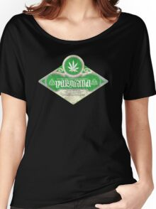 marijuana ambigram Women's Relaxed Fit T-Shirt