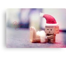 Merry Christmas Danbo! Canvas Print