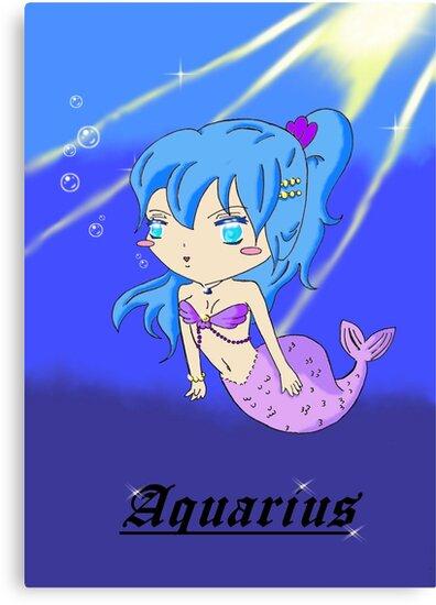 zodiac sign: Aquarius* by Akiqueen