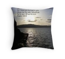 I have put my trust in you Throw Pillow