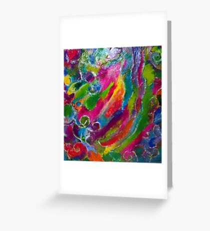 Abstract View Greeting Card