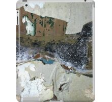 industrial urban wall: interprits rurality iPad Case/Skin