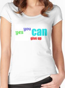 Lousy Message #2 Women's Fitted Scoop T-Shirt