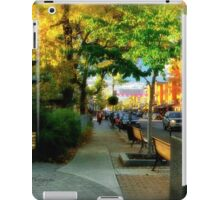 Avenue Cartier - Quebec City iPad Case/Skin