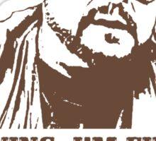 I'm Staying, I'm Finishing My Coffee The Big Lebowski Tshirt Sticker