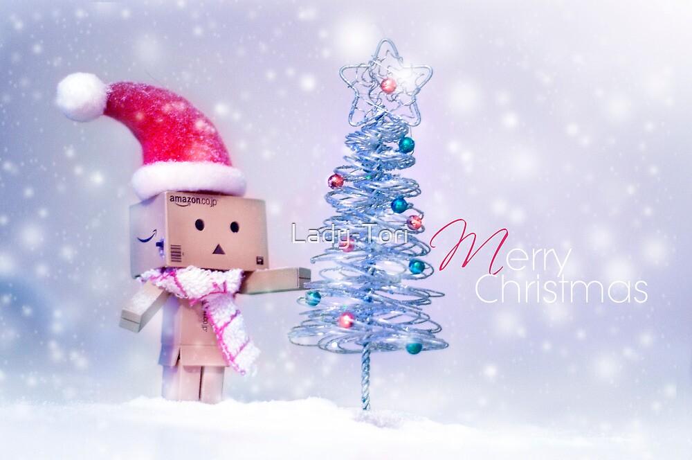 Merry Christmas Danbo II by Lady-Tori