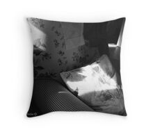 A Seat in the Sun - Cottage Interior, County Donegal. Throw Pillow