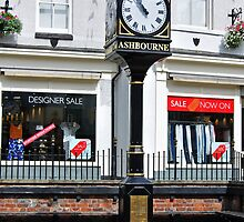Millennium Clock, Ashbourne by Rod Johnson