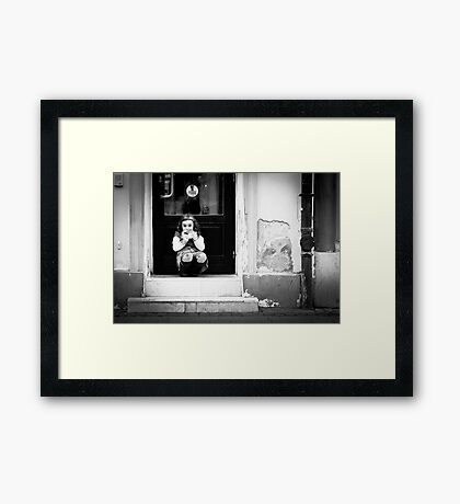 OnePhotoPerDay Series: 322 by L. Framed Print
