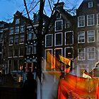 Amsterdam Red Light Angel by David  Perea