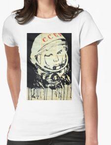 Yuri Gagarin.  Womens Fitted T-Shirt