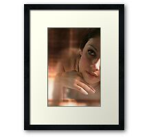 Thoughts In Rust Framed Print