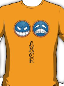 ONE PIECE - Ace Smiley Hat T-Shirt
