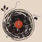 Enchanting Vinyl Records Vintage by Denis Marsili