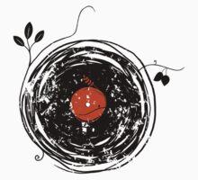 Enchanting Vinyl Records Vintage Kids Tee