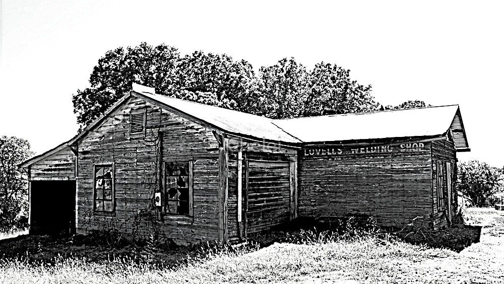 Lovell's Old Welding Shop by Chelei