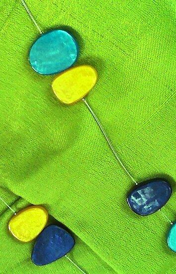 Blue & Green by Janie. D