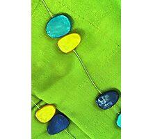 Blue & Green Photographic Print