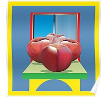 Plums, Ripe and Fruity Poster