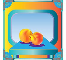 Peaches, Ripe and Fruity Photographic Print