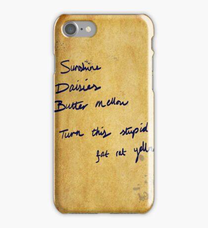 Fat rat yellow iPhone Case/Skin