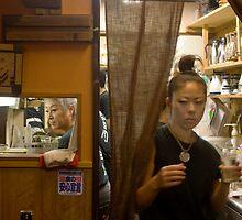 Onomichi izakaya by Glen O'Malley