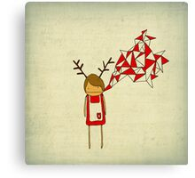 Christmas Excitement Canvas Print
