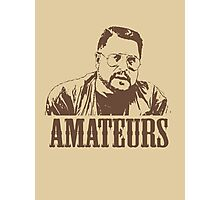The Big Lebowski Walter Sobchak Amateurs T-Shirt Photographic Print