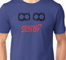 STI Split Engine Block Unisex T-Shirt