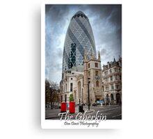 The Gherkin: London, UK. Canvas Print