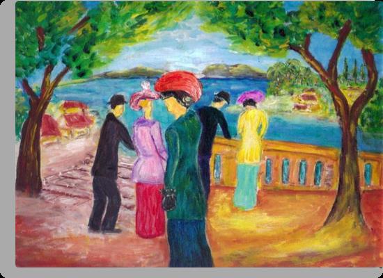 Promenade  by Mary Sedici
