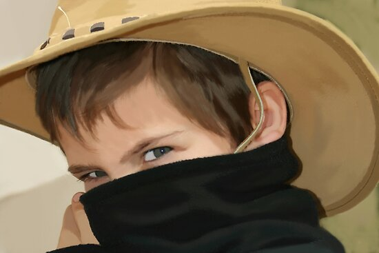 Zorro Junior Painted... by Qnita