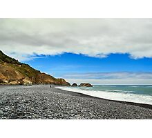 Walking On The Lost Coast Photographic Print