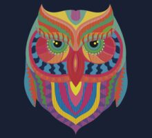 Owl Abstract Kids Clothes