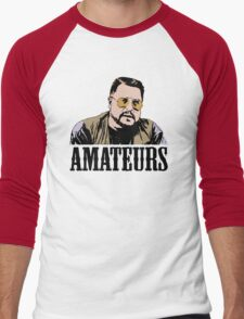 The Big Lebowski Walter Sobchak Amateurs Color T-Shirt Men's Baseball ¾ T-Shirt