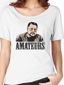 The Big Lebowski Walter Sobchak Amateurs Color T-Shirt Women's Relaxed Fit T-Shirt