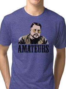 The Big Lebowski Walter Sobchak Amateurs Color T-Shirt Tri-blend T-Shirt