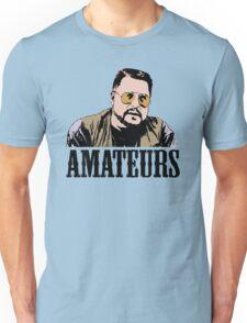 The Big Lebowski Walter Sobchak Amateurs Color T-Shirt Unisex T-Shirt