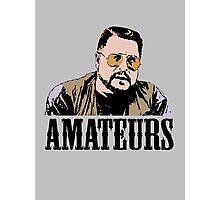 The Big Lebowski Walter Sobchak Amateurs Color T-Shirt Photographic Print