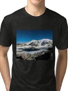 Tranquil Lake Tri-blend T-Shirt