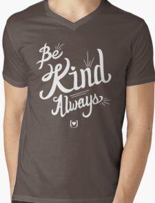 Be Kind Always Mens V-Neck T-Shirt