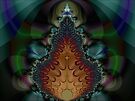 Fractal Christmas Tree  (FSK3540) by barrowda