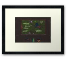 The View Screen Shows Life! Framed Print