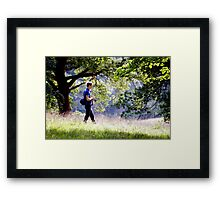 The Deer Stalker Framed Print