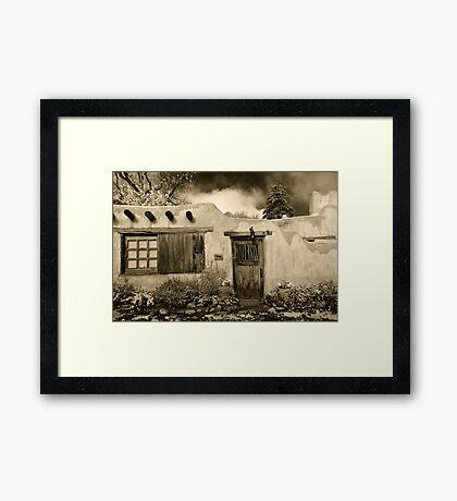 Delgado House Framed Print