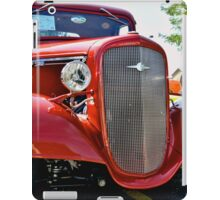 Red Custom Chevy Truck iPad Case/Skin
