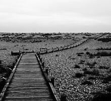Walkway - Dungeness Beach by PhotoBearUK